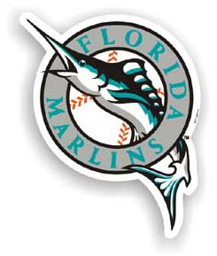 Florida Marlins Car Magnet