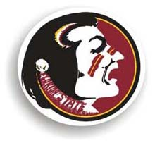Florida State Seminoles Car Magnet