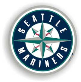 Seattle Mariners Car Magnet