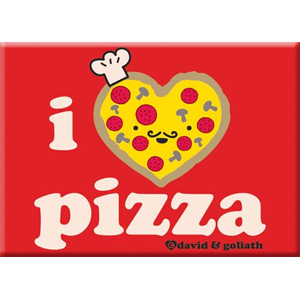 I Heart Pizza Magnet