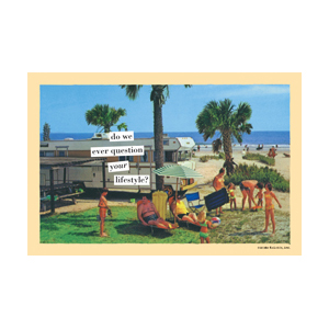 Your Lifestyle - Magnetic Postcard