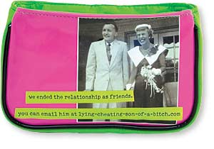 The relationship Cosmetic Bag