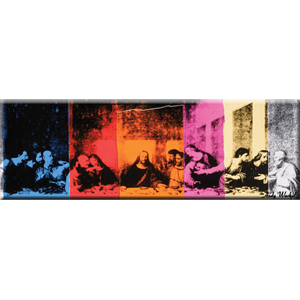 Andy Warhol Last Supper Magnet