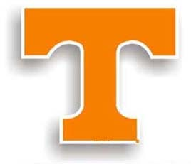 Tennessee Volunteers Car Magnet