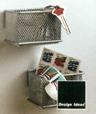 Mesh MagNet SMALL Silver  Magnetic Organizer