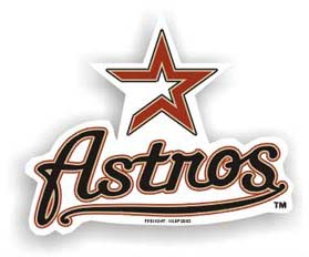 Houston Astros Car Magnet
