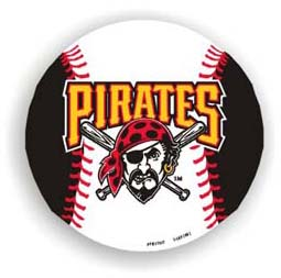 Pittsburgh Pirates Car Magnet