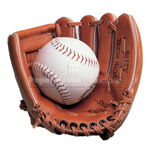 Softball & Glove Magnet