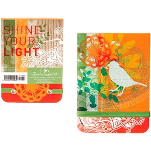 Shine Your Light Mini Notepad