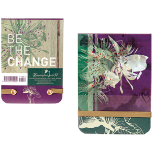 Be The Change Mini Notepad