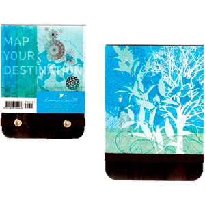 Map Your Destination Mini Notepad