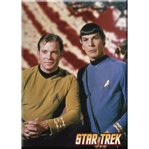 Spock and Kirk Magnet