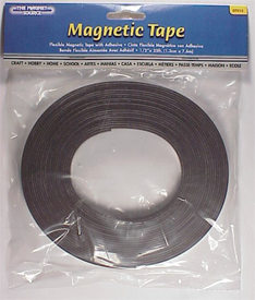 "1/2"" x 25 FT Flexible Magnetic Tape"