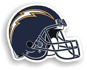 San Diego Chargers Car Magnet