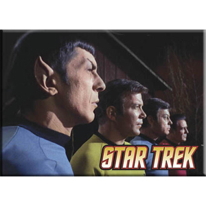 Star Trek Cast in Profile Magnet