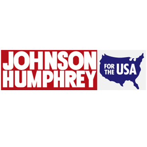 Johnson Humphrey USA Car Magnet