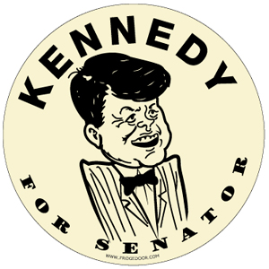 Ted Kennedy For Senator Car Magnet