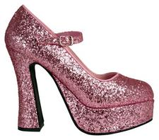 Pink Platform Shoes Magnet