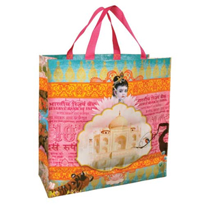 Blue Q India! Shopper Bag