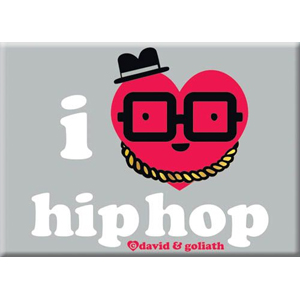 I Heart Hip Hop Magnet