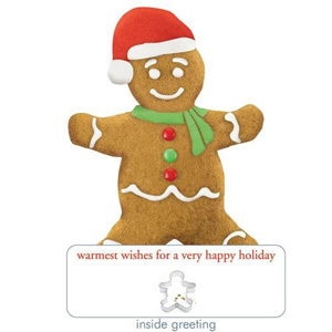 Paper House Holiday Gingerbread Man Card