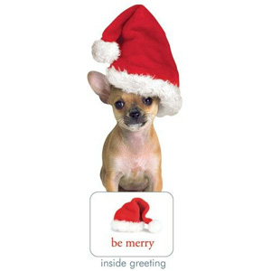 Paper House Holiday Chihuahua Card