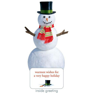 Paper House Holiday Snowman Card