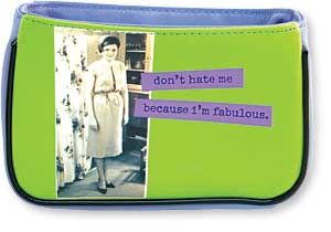 Don't Hate Me Cosmetic Bag