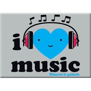I Heart Music Magnet