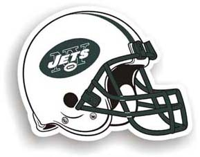 New York Jets Car Magnet
