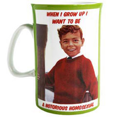 Notorious Homosexual Mug