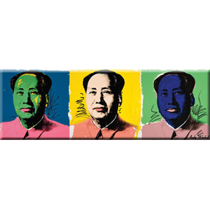 Andy Warhol Mao Magnet