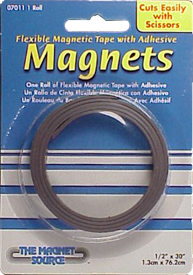 "1/2"" x 30""  Flexible Magnetic Tape"