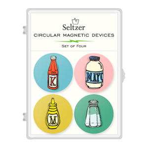 Condiments Magnet Sets
