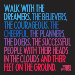 Image result for walk with the dreamers