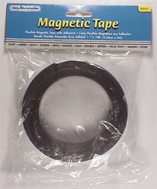 "1"" x 10 FT Flexible Magnetic Tape"