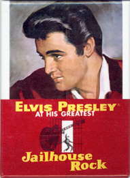"""Jailhouse Rock"" Movie Poster Magnet"