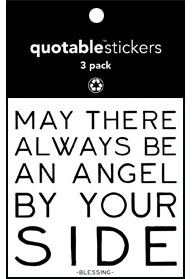 An Angel By Your Side Quotable Stickers 3-Pk