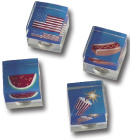 Stars & Stripes Cubed Magnet 4-Pack