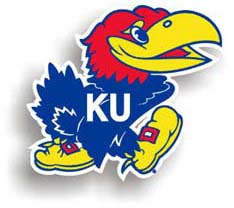 Kansas Jayhawks Car Magnet