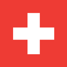 Switzerland Country Flag Car Magnet