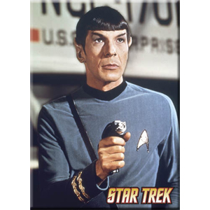 Mr Spock With Phaser Magnet