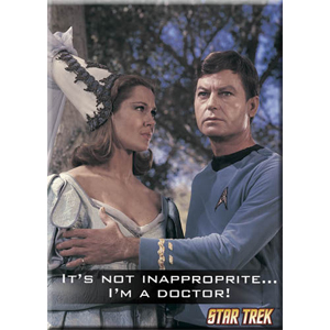 Star Trek I知 a Doctor! Magnet