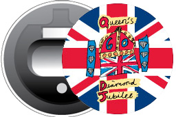 Diamond Jubilee Logo Magnetic Bottle Opener