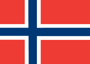 Norway Country Flag Car Magnet