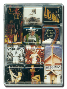 Vintage Las Vegas Mighty Magnets
