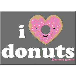 I Heart Donuts Magnet