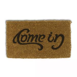 """Come in"" / ""Go away"" Doormat"