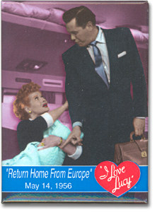 Lucy Home from Europe