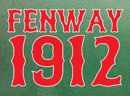 Fenway 1912 Fridge Magnet